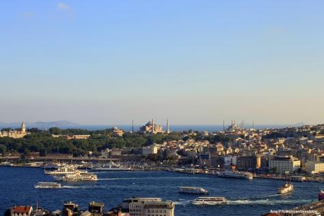 Vistas desde Torre Galata