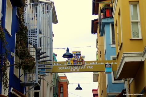 Ortaköy calles