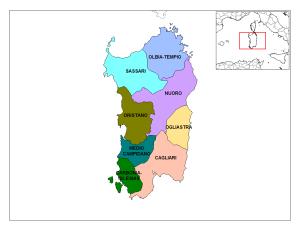 Provincias de Cerdeña