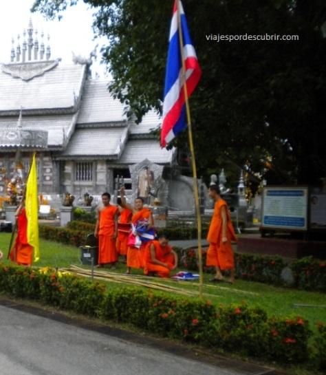 budistas Chiang Mai 2 Qué hacer en Chiang Mai