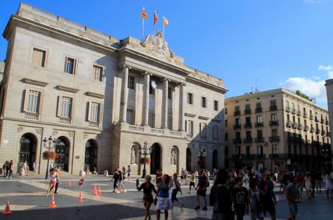 Plaza Sant Jaume Barcelona