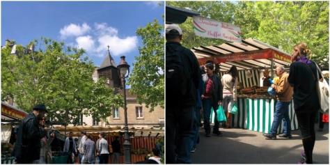 mercado de la bastilla París
