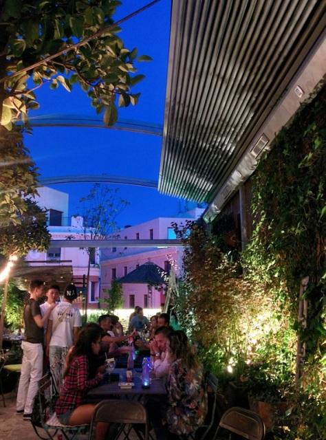Jardin Secreto Salvador Bachiller Terraza